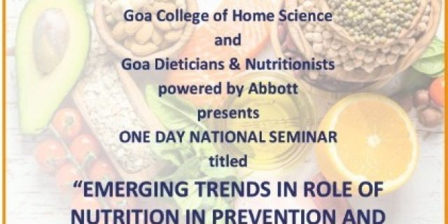 EMERGING TRENDS IN ROLE OF NUTRITION IN PREVENTION AND MANAGEMENT OF NON COMMUNICABLE DISEASES