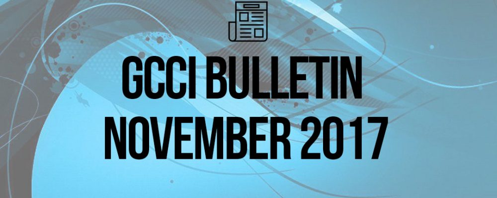 President Desk – GCCI Bulletin November 2017