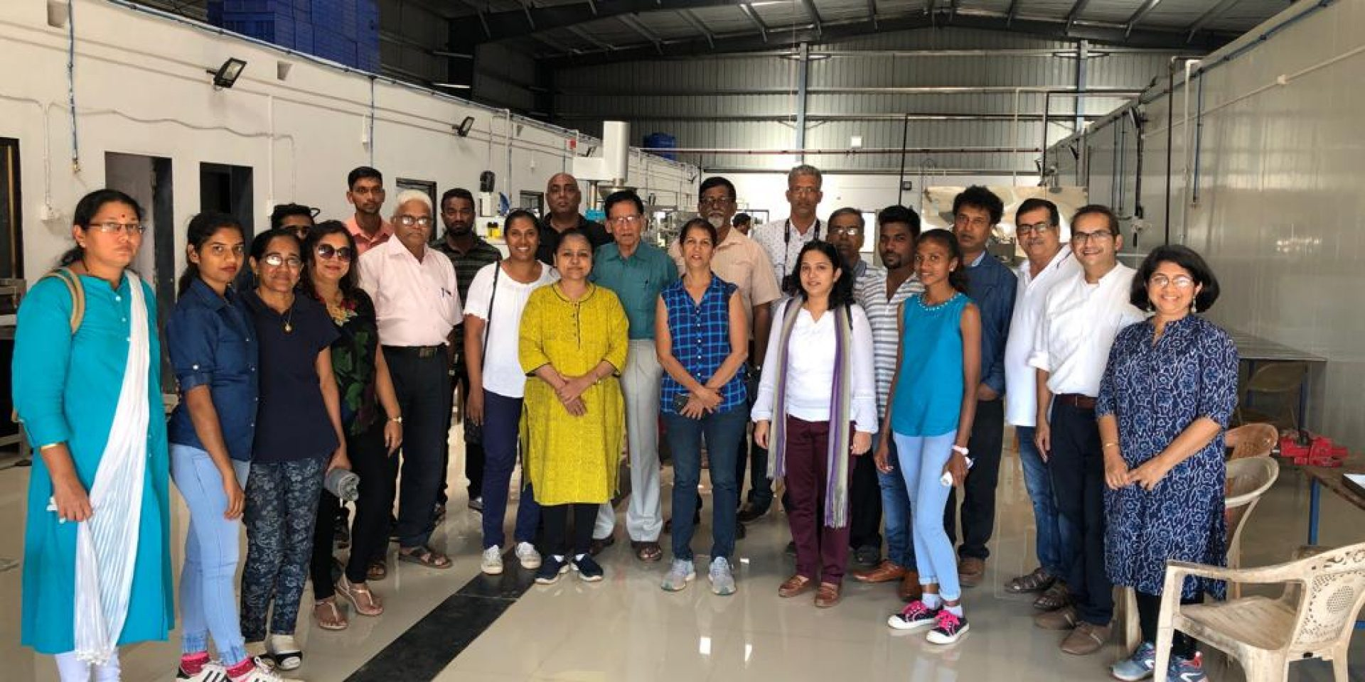 Goa Chamber of Commerce & Industry in association with NABARD - Goa chapter, organised a field visit to a Food Processing Cluster located at Dahibhav, Devgad, Maharashtra on Saturday, 16th Feb 2019.